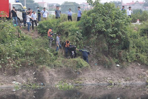 Đã tìm thấy thi thể nữ sinh Học viện Ngân Hàng dưới lòng sông Nhuệ-7