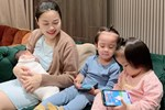 Tưởng hot mom Hằng Túi hiện đại, hóa ra mẹ 5 con kiêng cữ kiểu truyền thống, 7 ngày không gội đầu