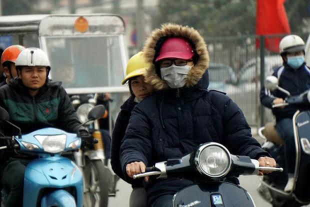 Miền Bắc đón không khí lạnh tăng cường, Hà Nội trở lạnh từ chiều tối 28/10-1