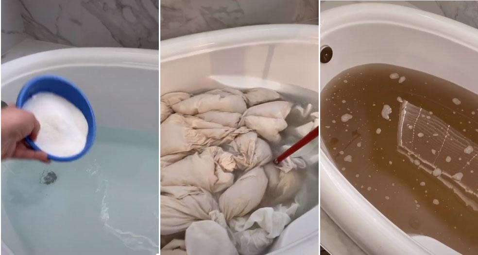 Cách giặt chăn ga tại nhà chuẩn sạch, đảm bảo sức khỏe trong mùa đông mà không phải ra tiệm-2