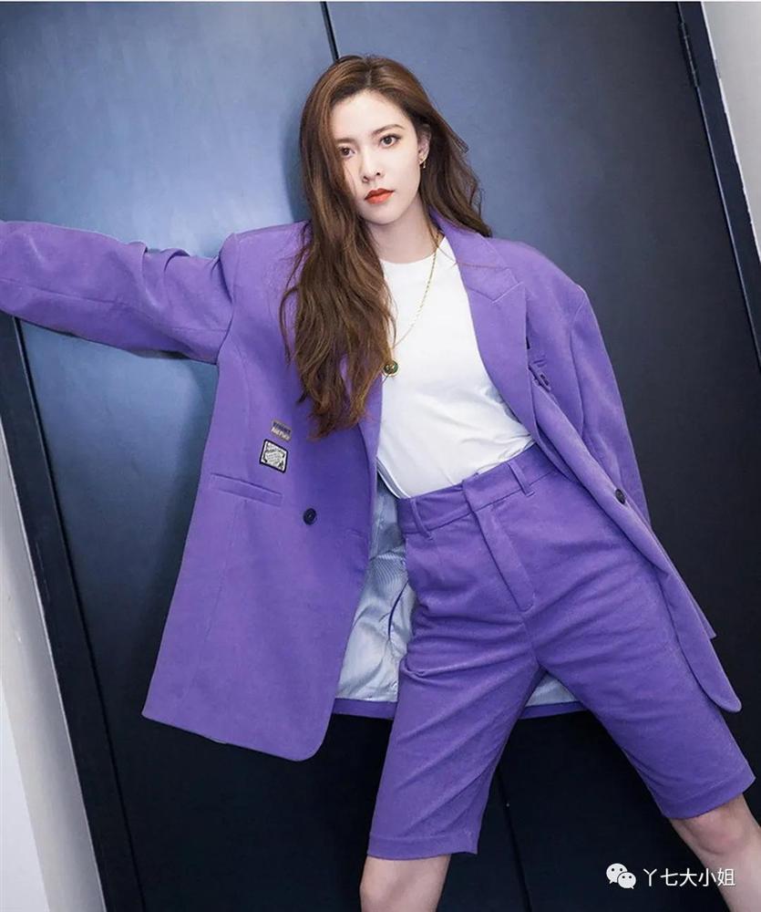 Trời se lạnh chưa biết mặc gì vừa đẹp vừa chất thì bạn hãy diện áo blazer và quần short là có ngay outfit 10 điểm-5