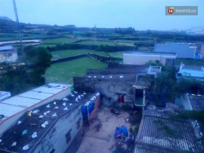 Bão số 9 đổ bộ: Gió giật mạnh ở Quảng Ngãi, đã có nhà bị tốc mái; phong toả một phần Quốc lộ 1A khiến hàng trăm xe ùn tắc-18