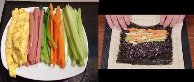 Thèm cơm nhưng lại lo ăn vào sẽ béo? Món kimbap này giúp chị em đã miệng mà chẳng sợ tăng cân!-5
