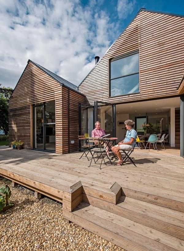 Những mẫu nhà gỗ đẹp khiến bạn muốn bỏ ngay nhà gạch để sắm cho mình căn mới-2