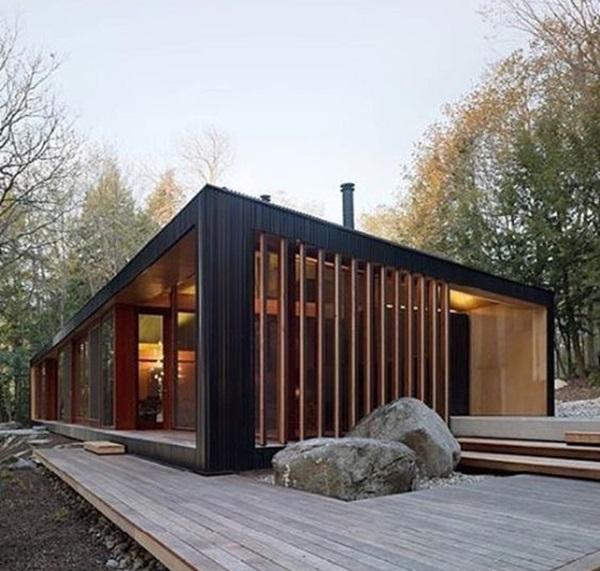 Những mẫu nhà gỗ đẹp khiến bạn muốn bỏ ngay nhà gạch để sắm cho mình căn mới-4