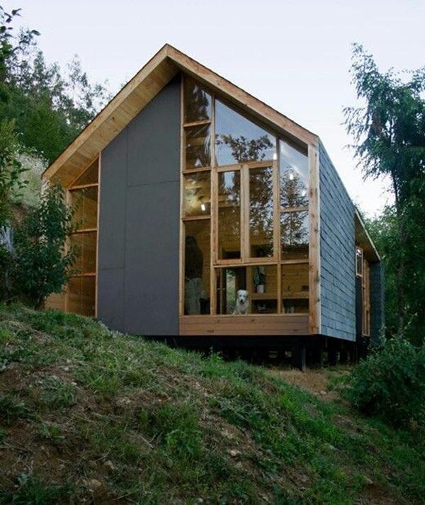 Những mẫu nhà gỗ đẹp khiến bạn muốn bỏ ngay nhà gạch để sắm cho mình căn mới-5