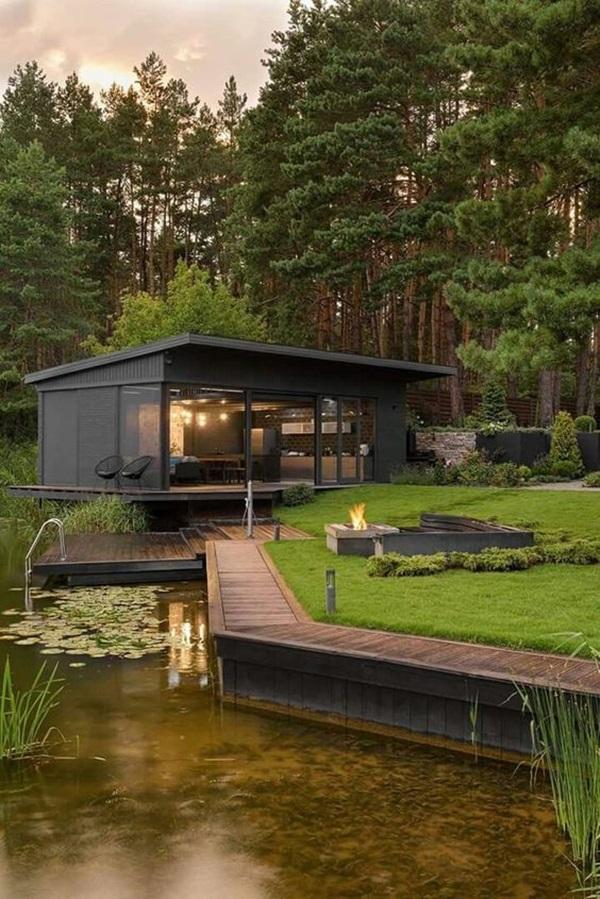 Những mẫu nhà gỗ đẹp khiến bạn muốn bỏ ngay nhà gạch để sắm cho mình căn mới-8