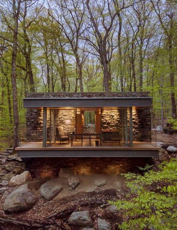 Những mẫu nhà gỗ đẹp khiến bạn muốn bỏ ngay nhà gạch để sắm cho mình căn mới-9