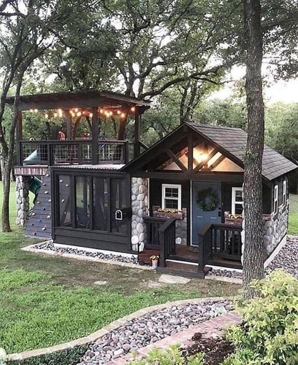 Những mẫu nhà gỗ đẹp khiến bạn muốn bỏ ngay nhà gạch để sắm cho mình căn mới-11