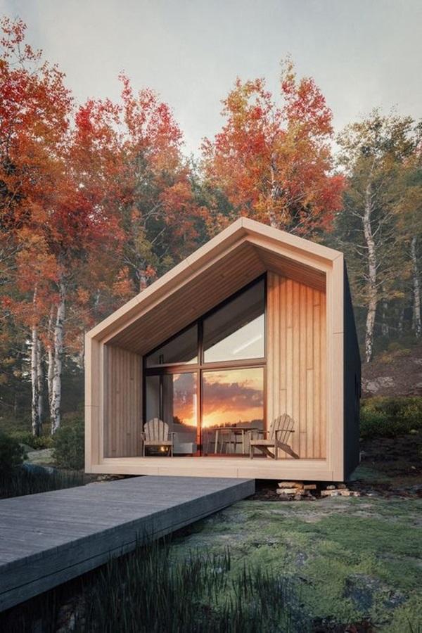 Những mẫu nhà gỗ đẹp khiến bạn muốn bỏ ngay nhà gạch để sắm cho mình căn mới-12