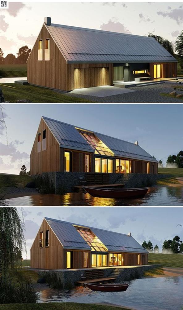 Những mẫu nhà gỗ đẹp khiến bạn muốn bỏ ngay nhà gạch để sắm cho mình căn mới-13