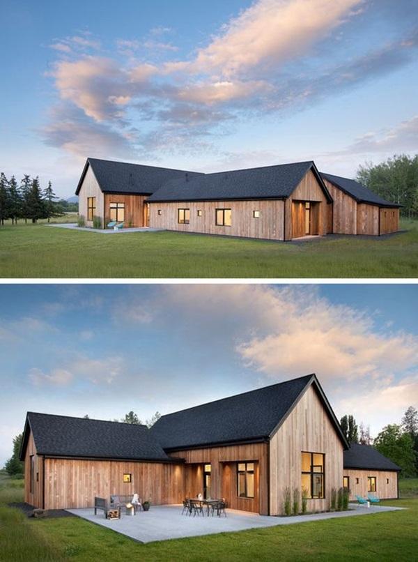 Những mẫu nhà gỗ đẹp khiến bạn muốn bỏ ngay nhà gạch để sắm cho mình căn mới-14