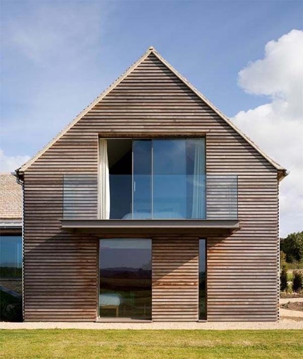 Những mẫu nhà gỗ đẹp khiến bạn muốn bỏ ngay nhà gạch để sắm cho mình căn mới-16