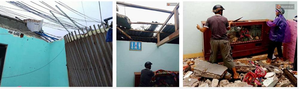 Những hình ảnh đầu tiên tại đảo Lý Sơn khi bão số 9 đi qua: Mọi thứ đều tan hoang, người dân thất thần bên đống đổ nát-2
