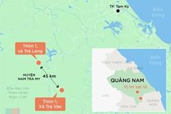 Sạt lở vùi lấp 53 người ở Quảng Nam: Đã tìm thấy 7 thi thể