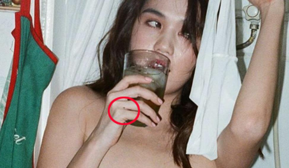 Loạt ảnh nóng được cho là của Ngọc Trinh đang bị phát tán trên mạng xã hội?-2