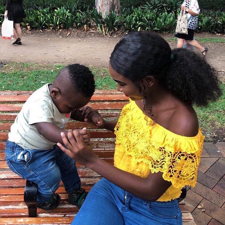 Em bé da đen đẹp nhất từng sốt cộng đồng mạng khiến mọi người tò mò về nhan sắc của người mẹ, khi nhìn thấy ai nấy ngỡ ngàng-12