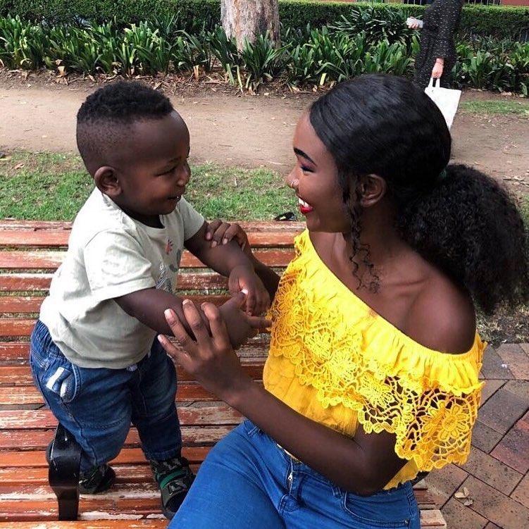 Em bé da đen đẹp nhất từng sốt cộng đồng mạng khiến mọi người tò mò về nhan sắc của người mẹ, khi nhìn thấy ai nấy ngỡ ngàng-13