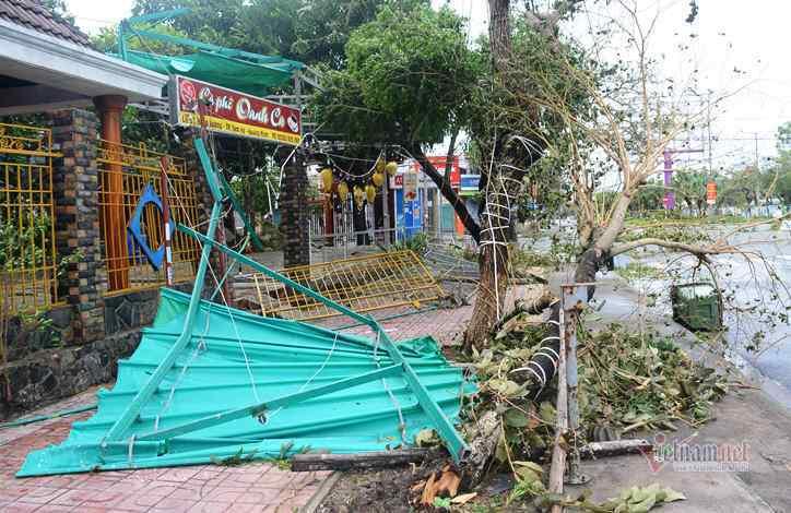 Sau bão số 9, đường phố Đà Nẵng, Quang Nam tan hoang không ngờ-8