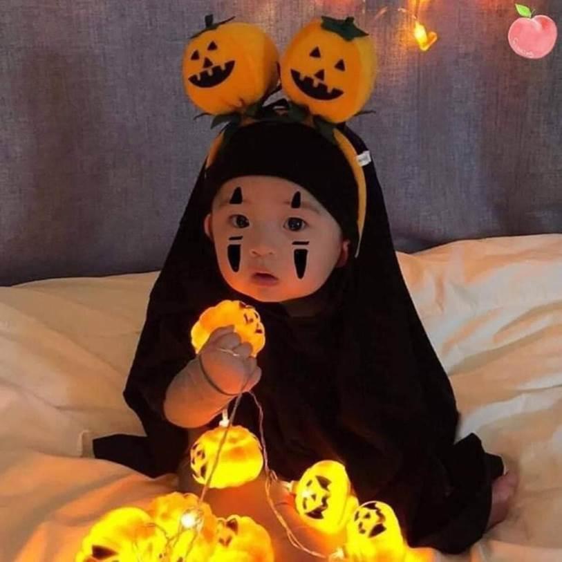 Trước ngày Halloween, Vô Diện phiên bản ú ù u đang khiến cộng đồng mạng dậy sóng bởi chiếc má phúng phính dễ thương-4