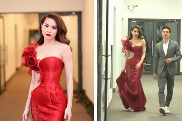 Hot lại clip Hà Hồ ríu rít cùng Kim Lý tại hậu trường sự kiện