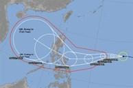 Biển Đông đối mặt với bão mạnh vào tuần tới