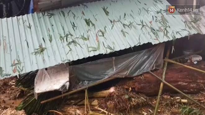 Clip: Những hình ảnh đầu tiên về hiện trường vụ sạt lở khiến 8 người chết ở xã Trà Vân, Nam Trà My-2