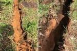 Clip: Xuất hiện vết nứt dài 200m trên núi Tà Bang, Quảng Trị, di dời dân khẩn cấp
