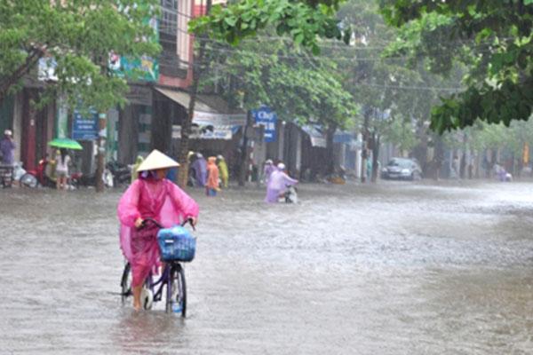 Thời tiết ngày 30/10, Bắc Bộ có nơi dưới 17 độ, Trung Bộ mưa to
