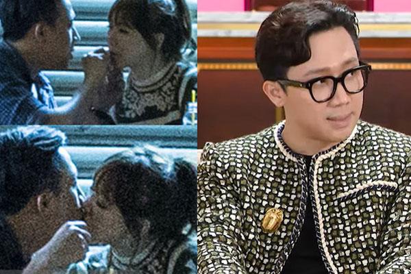 Trấn Thành hé lộ về chuyện bị chụp hình hôn Hari Won ở quán bánh canh