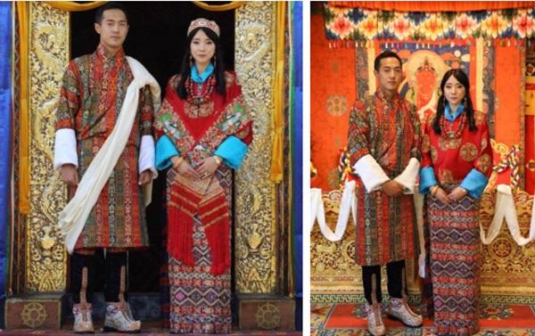 Nàng công chúa vạn người mê của Bhutan từng làm chao đảo MXH bất ngờ lên xe hoa, nhan sắc đôi tân lang tân nương gây chú ý-1