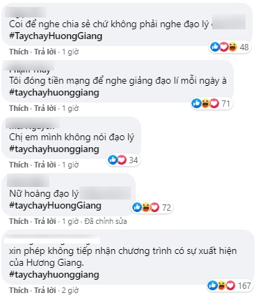 Làn sóng tẩy chay Hương Giang ngày càng dữ dội, khán giả tấn công show Chị em chúng mình, đòi thay người vì không thích nghe đạo lý-3