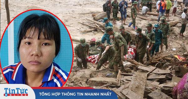 Người mẹ mất 3 con trong vụ lở núi Trà Leng: 'Sữa căng tức mà con không còn'