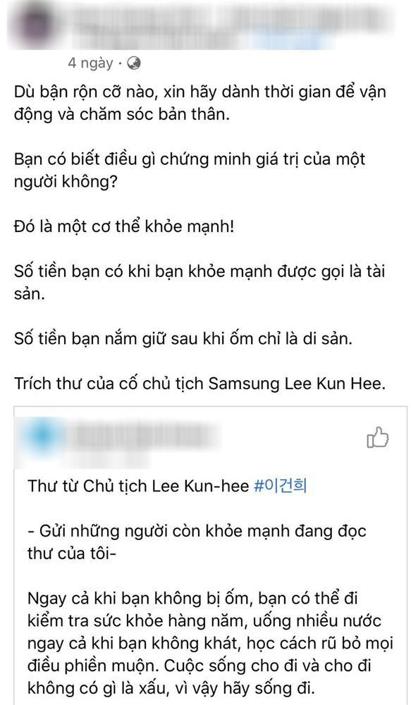 Đang được lan truyền rộng rãi nhưng đây mới là sự thật về bức thư cuối cùng của cố Chủ tịch tập đoàn Samsung-3
