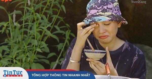 Trường Giang làm gì mà khiến Hoa hậu Tiểu Vy phải 'ăn cơm chan nước mắt'?