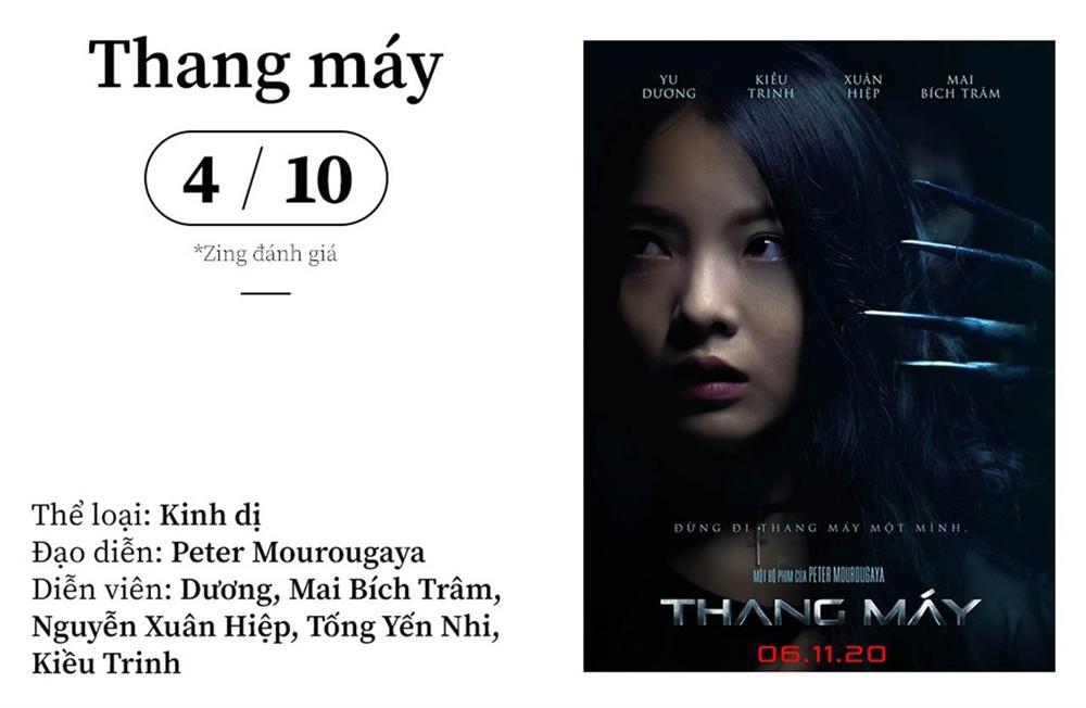 'Thang máy' - phim kinh dị Việt rập khuôn và phi lý-1