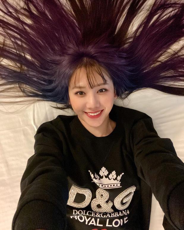 Mỹ Tâm - Hari Won - Quỳnh Anh Shyn đu trend tóc tím nhưng chặt chém nổi dàn idol Hàn-8