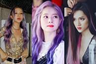 Mỹ Tâm - Hari Won - Quỳnh Anh Shyn đu trend tóc tím nhưng 'chặt chém' nổi dàn idol Hàn