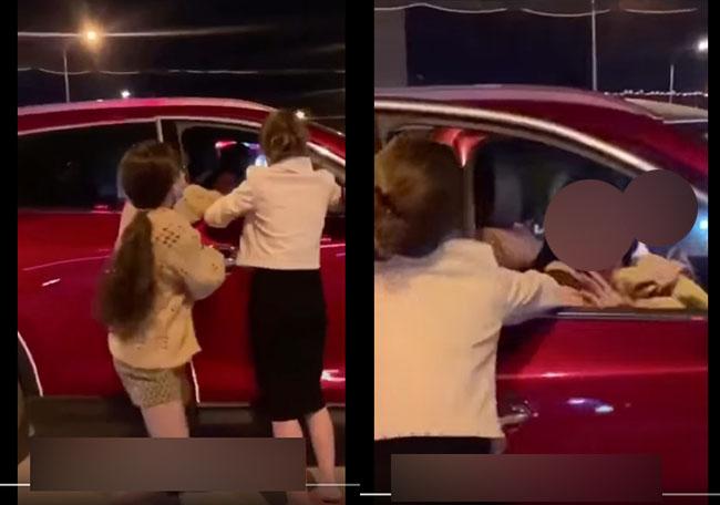 Vụ đánh ghen hot nhất MXH ngày Halloween: Đi chơi cùng hội bạn dì thì bắt gặp chồng trong ô tô với tuesday-2