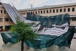Học sinh vùng bão lũ miền Trung: Gian nan con đường đến trường-5