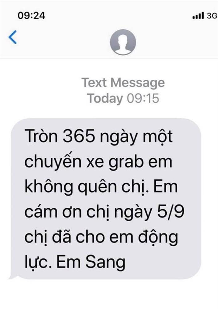 Tặng tài xế grab quà trung thu, người phụ nữ không ngờ cứ mỗi năm lại nhận được tin nhắn có nội dung đặc biệt-2