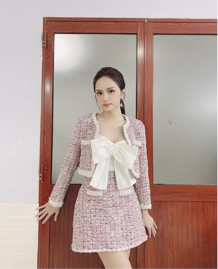 Sở hữu tủ đồ hiệu khủng nhưng Hương Giang vẫn nhiều lần bị nghi dùng hàng nhái-1