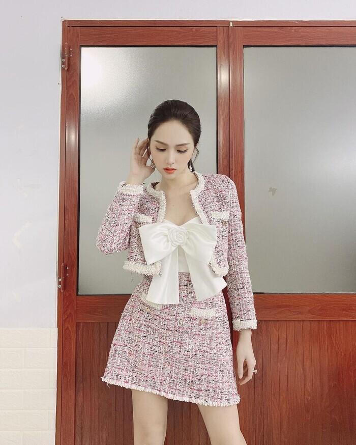 Sở hữu tủ đồ hiệu khủng nhưng Hương Giang vẫn nhiều lần bị nghi dùng hàng nhái-3