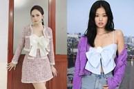 Sở hữu tủ đồ hiệu 'khủng' nhưng Hương Giang vẫn nhiều lần bị nghi dùng hàng nhái