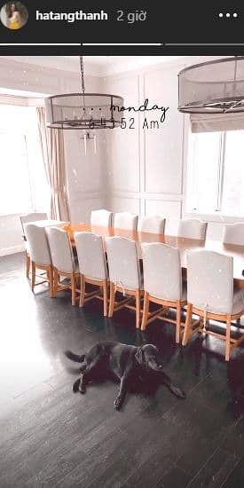 Tăng Thanh Hà đăng ảnh chào buổi sáng, hé lộ thêm góc sang chảnh trong biệt thự-3