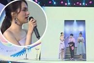 """Netizen """"khủng bố"""" sự kiện livestream khi Hương Giang làm MC: 30 phút quay toàn Thuý Ngân, zoom rõ nàng Hậu chỉ 2 lần và thả """"giận dữ"""" liên tục"""