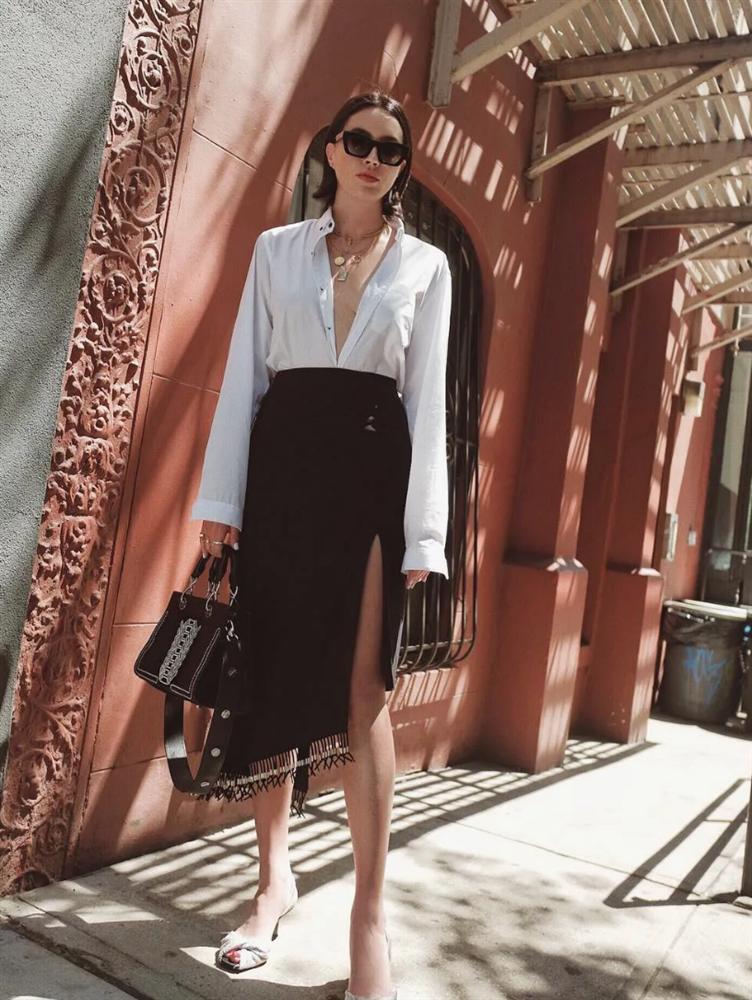 4 mẫu váy được yêu thích nhất dịp Thu Đông: Che dáng cực khéo mà vẫn max sành điệu-11