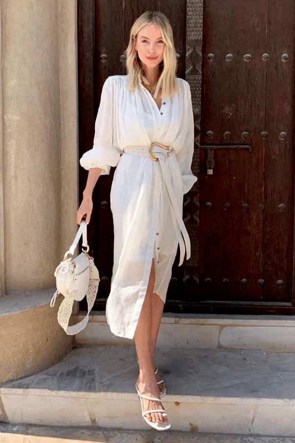 4 mẫu váy được yêu thích nhất dịp Thu Đông: Che dáng cực khéo mà vẫn max sành điệu-13