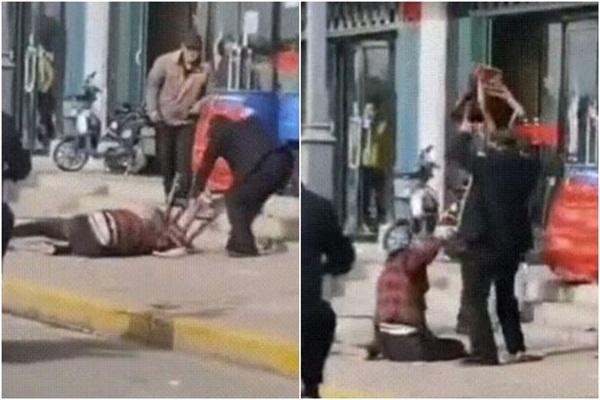 Người đàn ông đánh vợ đến chết ngay trên đường khiến dư luận phẫn nộ, phản ứng của những người chứng kiến gây bức xúc-1