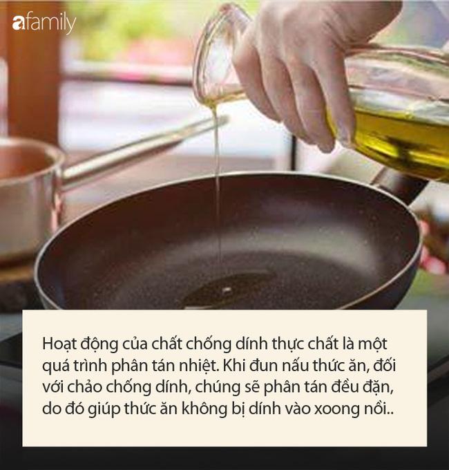 Dùng chảo chống dính khi nấu ăn, chuyên gia khuyến cáo điều quan trọng để tránh nguy cơ gây hại sức khỏe, ung thư-2